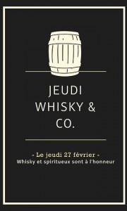 jeudi Whisky & Co à  la Cuvée