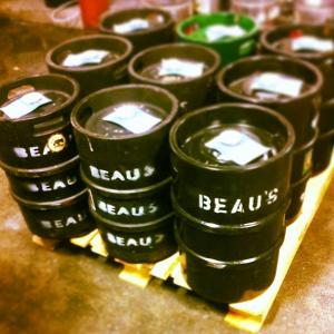 Les fûts chez Beau's
