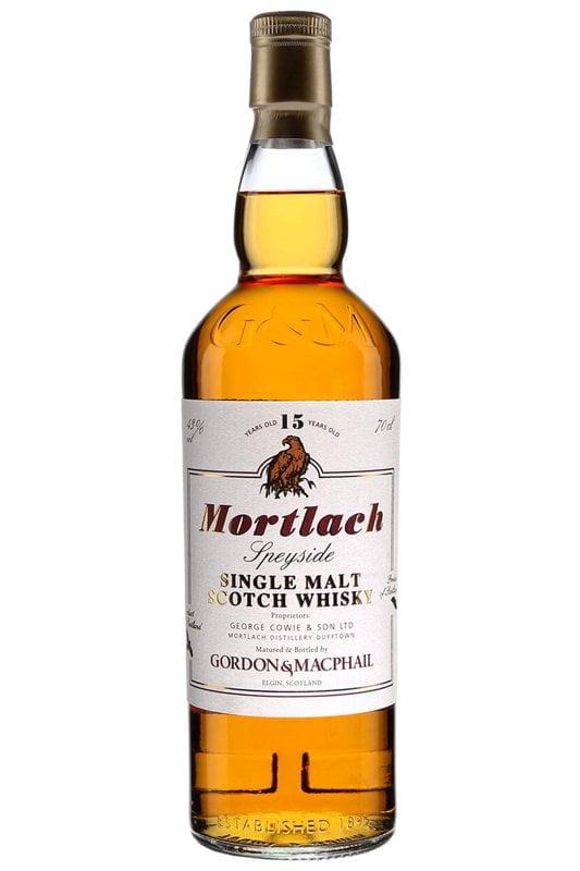 Gordon & MacPhail Distillery Labels Mortlach 15 ans, 43%