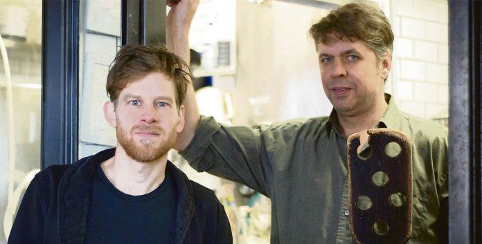 Michel Zabitsky et Nathan McNutt