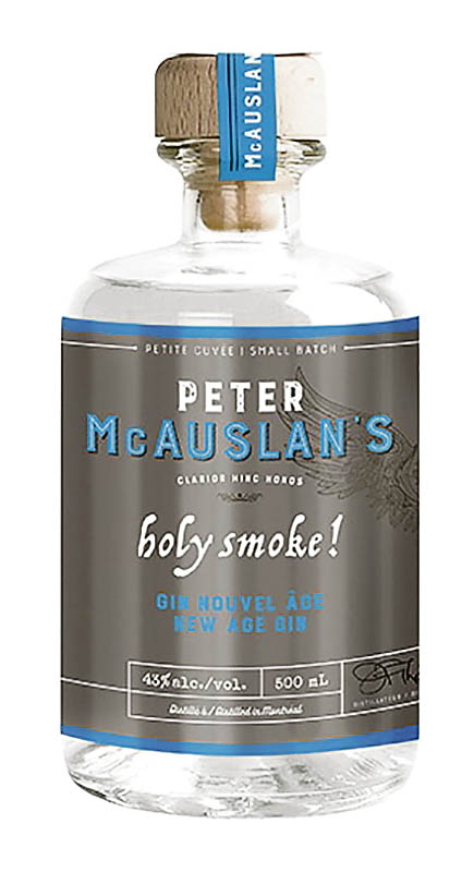 Une bouteille de gin Maltage & Distillation Holy Smoke!, 43%
