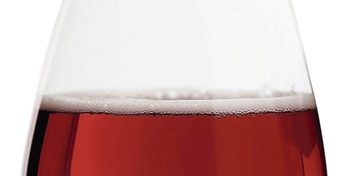 Gros plan sur une bière rousse