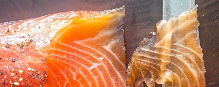 Saumon fûmé au BBQ
