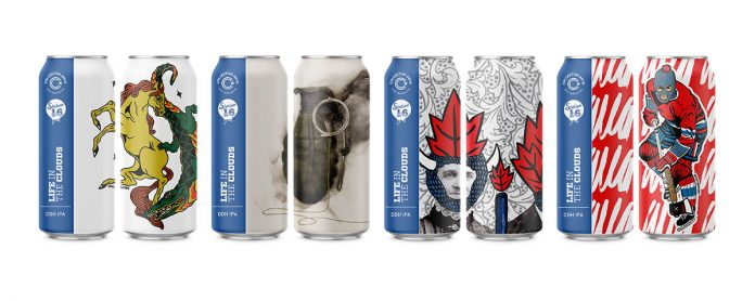 Canettes de Collective Arts Brewing