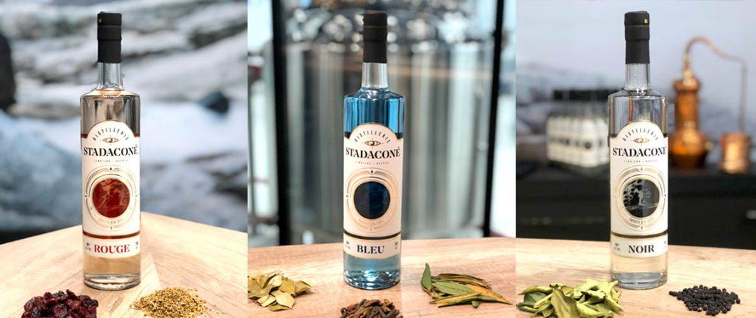 Les trois premiers gins de la Distillerie Stadaconé
